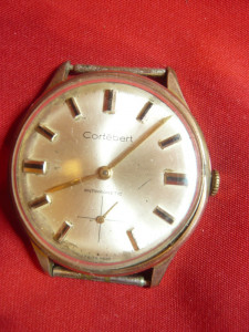 Ceas barbatesc de mana Cortebert antimagnetic Elvetia ,D.cadran=3cm-de colectie