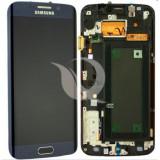 LCD Samsung Galaxy S6 Edge G925 | Black/Blue | Original / AM+ Calitatea A
