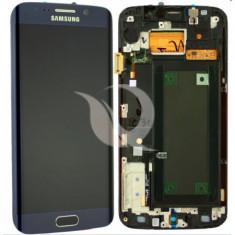 LCD Samsung Galaxy S6 Edge G925   Black/Blue   Original / AM+ Calitatea A