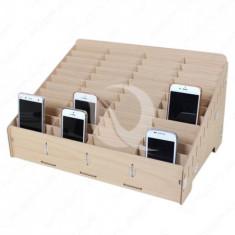 Diverse Scule Service Woody Mobile Storage Box | 48 Slot
