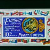 Ungaria 1975, CSCE, nedantelat, Mi. 113 B, MNH, cat. 65 €, Nestampilat