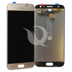 Display Samsung Galaxy J3 J330 2017 auriu compatibil