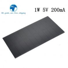 panou solar 1w 5v 200ma incarcare telefon mobil solar panel