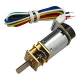 Micro Motor cu Reductor și Codor CGM12-N20VA-8200E (37 RPM la 3 V, 75 RPM la 6 V)