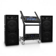 Electronic-Star DJ PA Set Sistem Rack Star Series Mars Flash Bluetooth