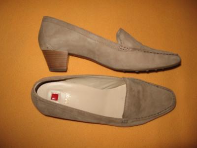 Pantofi piele naturala Hogl, comozi Mar 41 foto