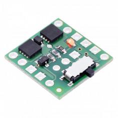 Comutator Mini MOSFET LV cu Protecţie la Alimentare Inversă și Buton Lateral