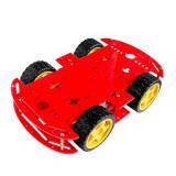 Kit Robot cu 4 Motoare (Roșu)