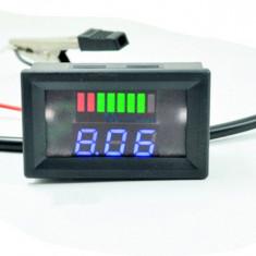 Voltmetru Indicator nivel incarcare baterie 48V