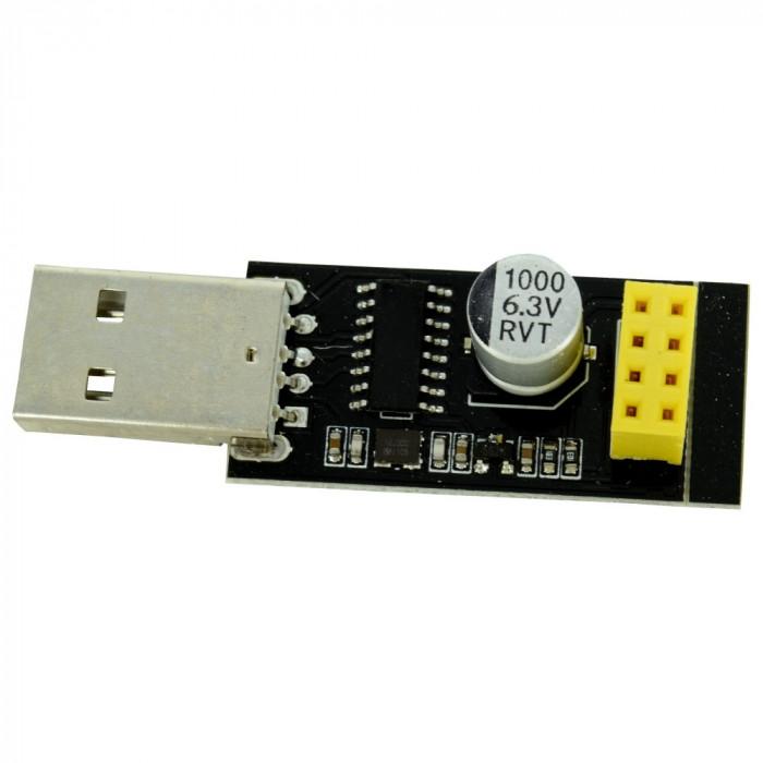 Interfaţă USB Serial pentru Modulele WiFi ESP-01