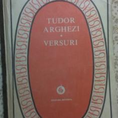 VERSURI de TUDOR ARGHEZI