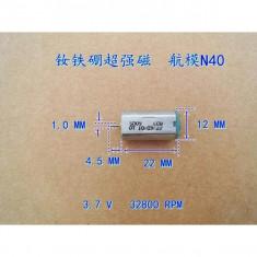 Micro Motor DC de Mare Viteză N40 (32800 RPM la 3.7 V)