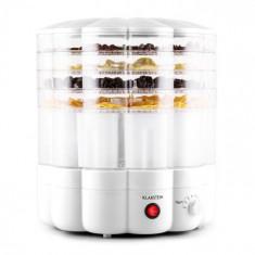 Klarstein Klarstein YoFruit uscător de fructe 5 etaje cu filtru de iaurt alb