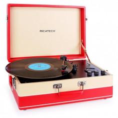 Ricatech RTT95 gramofon player cu USB FM digitalizare