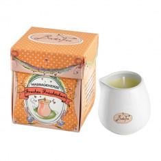 Peach Lumanare pentru masaj Unisex 65 gr