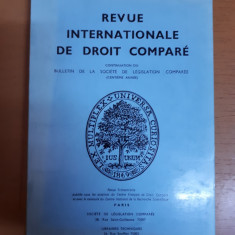 Revista internațională de drept comparat nr. 2/1977, Paris