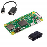 Raspberry Pi Zero + Cablu OTG + Adaptor Mini HDMI
