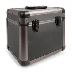 "Power Dynamics PRC100 12"", valiză Vynil Titanium 100 LPs"