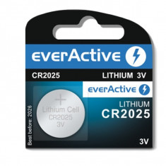 Baterie cu Litiu CR2025 EverActive