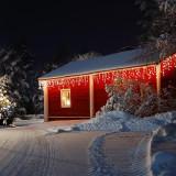 Blumfeldt Forsthaus luminide Crăciun 16 m 320 LED-uri Snowmotion albe calde