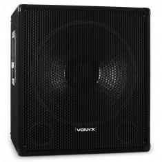 Skytec DJ PA subwoofer disco 46 cm, 1000W