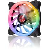 Ventilator pentru carcasa RAIJINTEK IRIS 14 Rainbow RGB LED 140mm