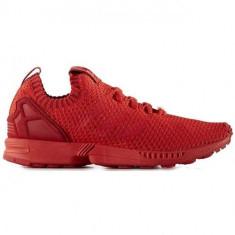 Pantofi Barbati Adidas ZX Flux Primeknit S76497, 42, Rosu