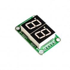 Afișaj LED Dual cu 7 Segmente de 0.5'' cu Registru de Deplasare 74HC595