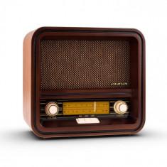 Auna Belle Epoque 1901 radio retro, radio nostalgic, FM, AM, USB, MP3