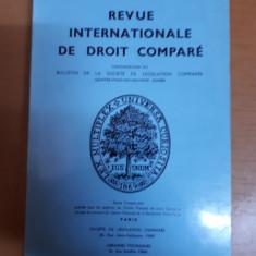 Revista internațională de drept comparat nr. 4/1976, Paris