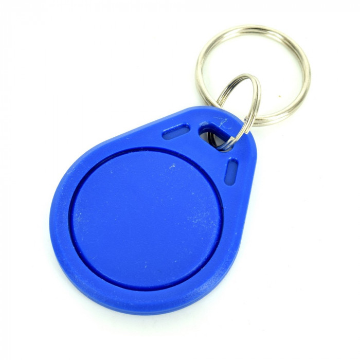 Breloc Albastru cu Eticheta RFID