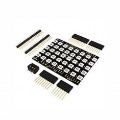 Matrice 5x8 cu LED-uri RGB Adresabile WS2812B