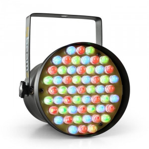 Beamz PAR36 SPOT, 8W, reflector, 55 x 10mm LED RGB DMX