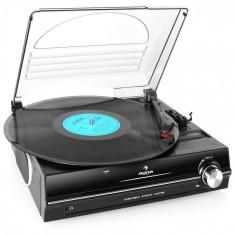 Auna 928 înregistrare jucător de la difuzoarele încorporate 33 45 RPM