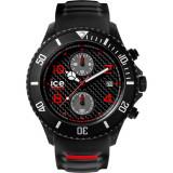 Ceas Barbati ICE Carbon black-white, big-big, chronograph, Ice Watch