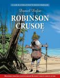 Robinson Crusoe. Benzi desenate, Daniel Defoe