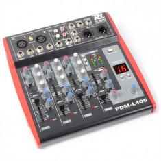 Power Dynamics PDM-L405 mixer 4 canale USB AUX + 48 V