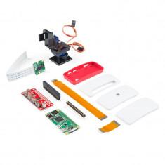 Kit Raspberry Pi Zero W cu Camera si Montura Pan/Tilt SparkFun