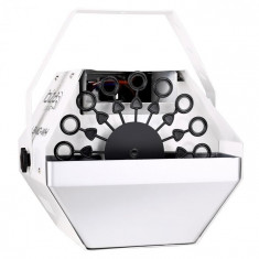 Ibiza LIGHT LBM-10, dispozitiv pentru petreceri, pentru bule de săpun, alb