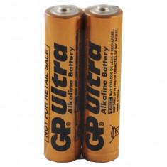 Set de 2 Baterii Ultra Alcaline GP LR03 / AAA