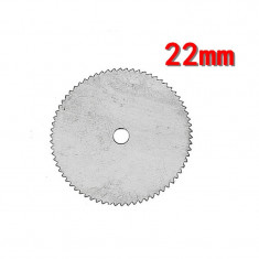 Disc pentru Taiat din Otel Inoxidabil de 22 mm