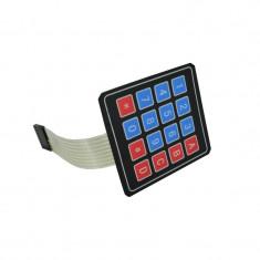 Tastatura matriceala 4x4 cu conector pin de tip mama cu membrana adeziva (Matrix Array 16 Key Keypad) Arduino / PIC / AVR / ARM