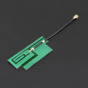 Antena GSM/Celurară Quad-Band Slim Tip Sticker 3 dBi uFL