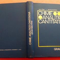 Chimie Analitica Cantitativa. Gravimetria - Grigore Popa, Vasilica Croitoru, Didactica si Pedagogica, 1971