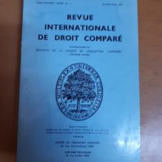 Revista internațională de drept comparat nr. 1/1977, Paris