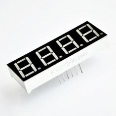 Afisaj cu LED Rosu de 4 Cifre cu Catod Comun de 0.36'' 3641AS