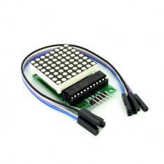 Modul cu Matrice de LED-uri MAX7219 Arduino / PIC / AVR / ARM / STM32 Dot Matrix Control Display Module