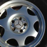 Jante Mercedes Originale Iarna + cauciucuri, 205, 55, R16C