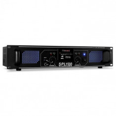 Skytec SPL-1500, 4200 W, USB, SD, MP3, amplificator HiFi PA