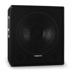 Skytec DJ PA difuzor 38 cm subwoofer cu trepied